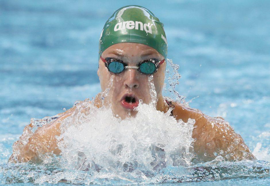 R. Grumbinas apie R. Meilutytės plaukimą: ji realiai pretenduoja į medalį