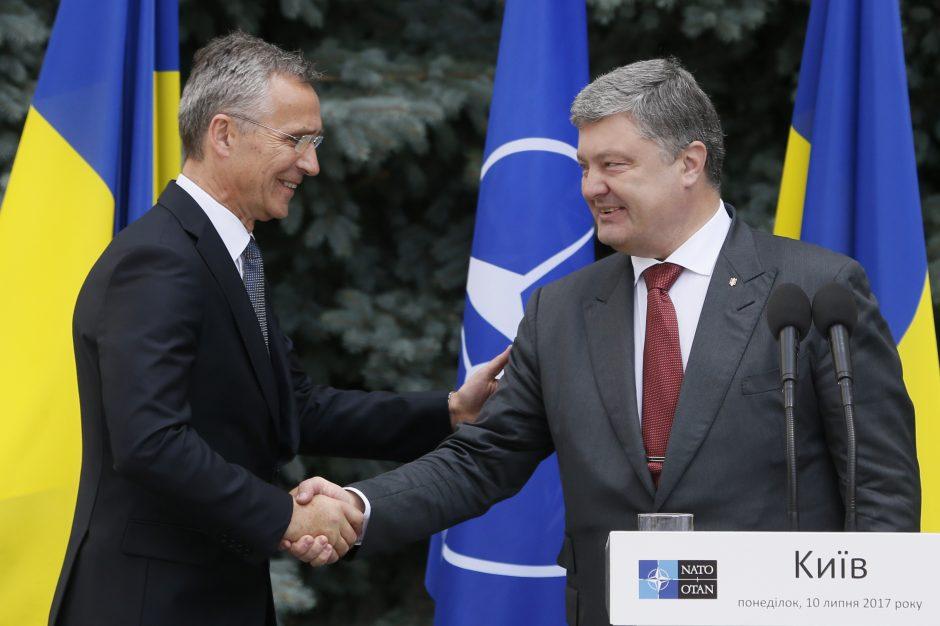 NATO palaiko Rusijos agresiją kenčiančią Ukrainą