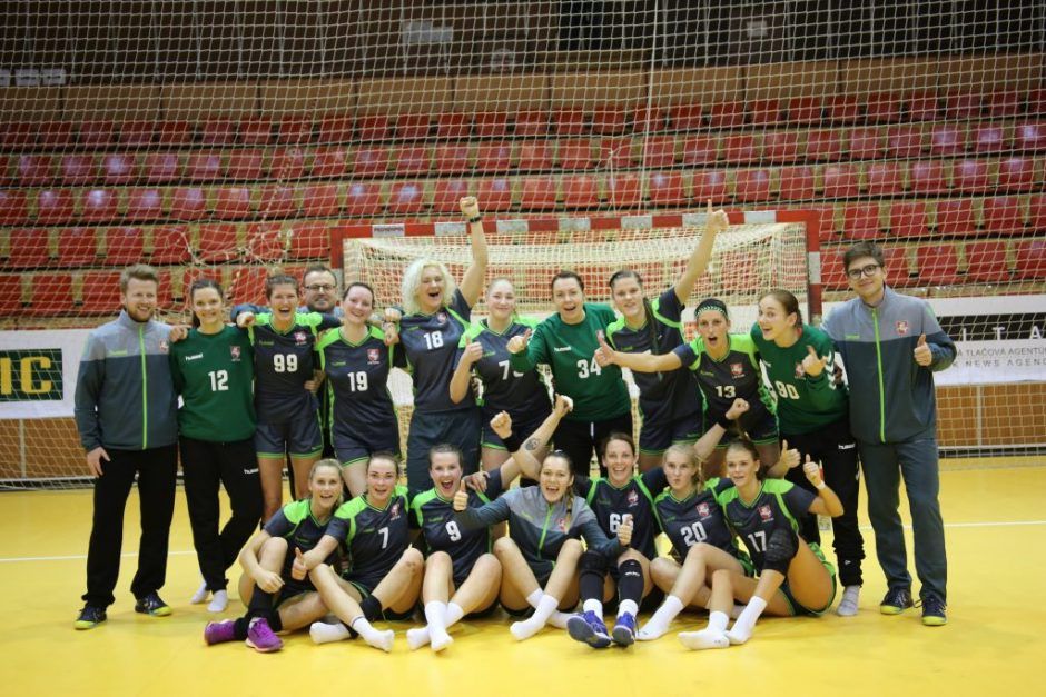 Nacionalinė moterų rankinio rinktinė pralaimėjo turkėms