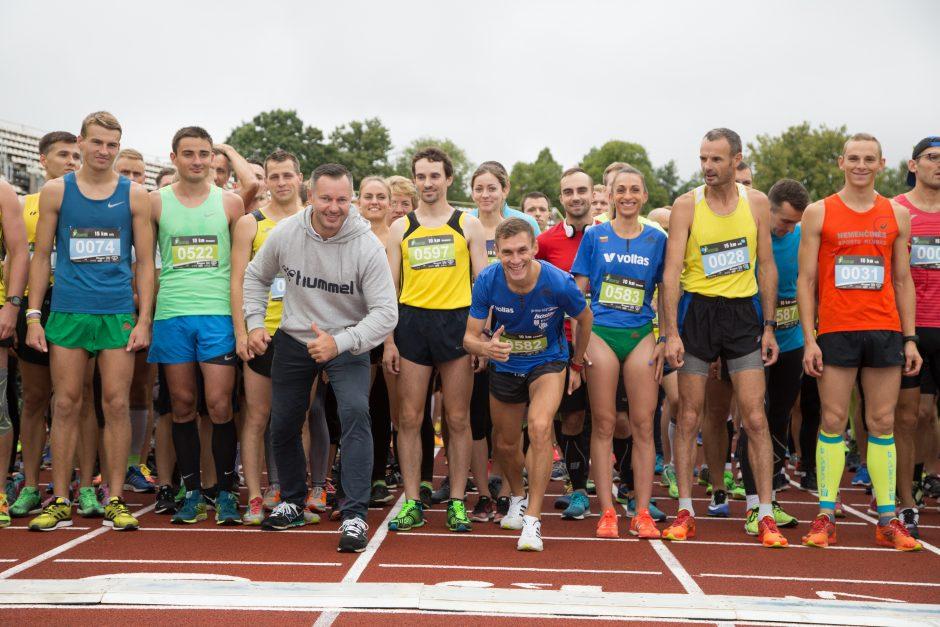 Naujametinio bėgimo organizatoriai: Kaunas ne tik tvarkosi, bet ir sportuoja