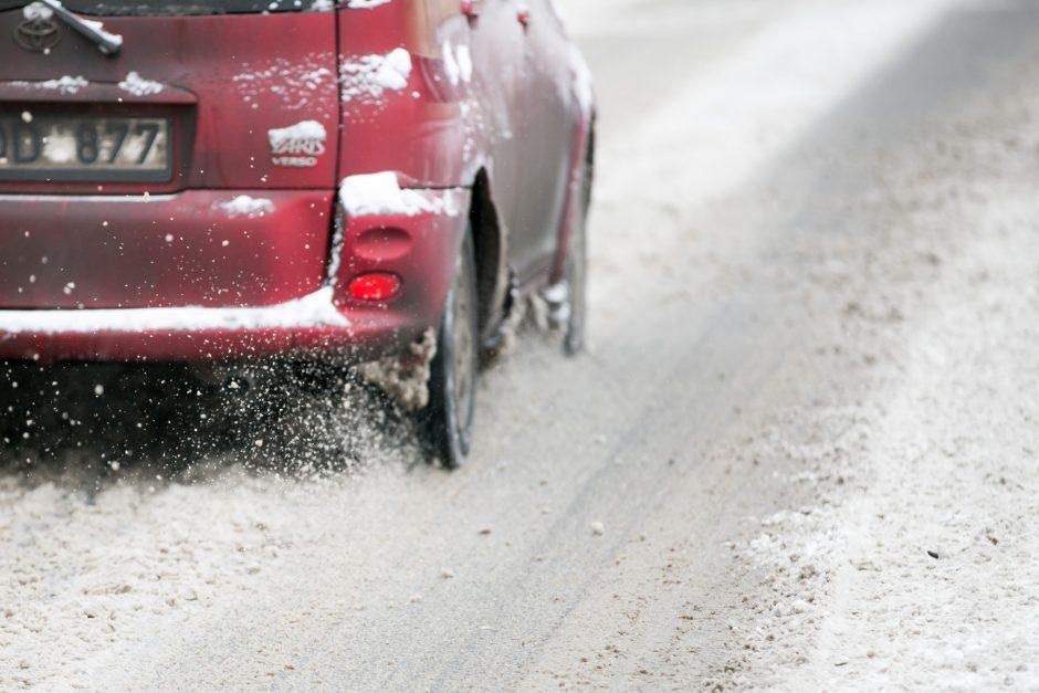 Romainiuose – sudėtingos eismo sąlygos