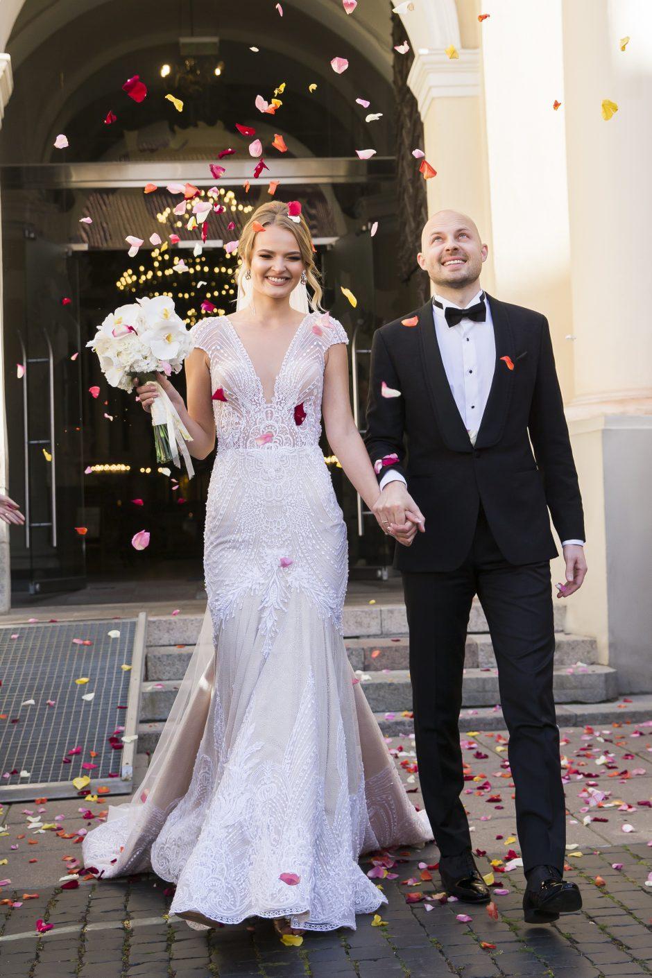 Prodiuserio Povilo Skaisgirio ir visažistės Gretos Tarozaitės vestuvės