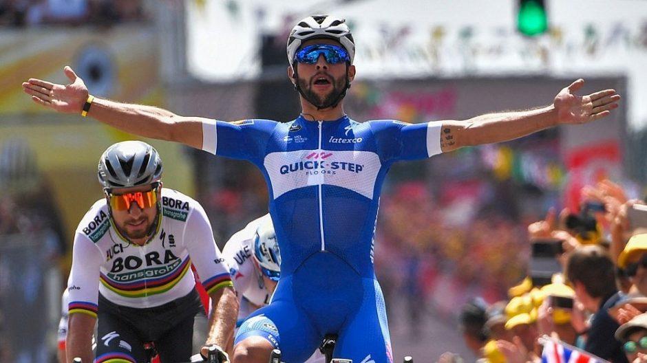 """Prestižinės """"Tour de France"""" dviračių lenktynės prasidėjo kolumbiečio pergale"""