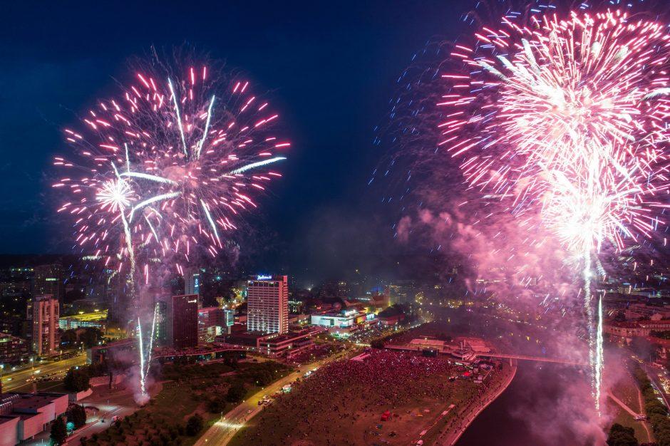 Vilnius kviečia šventes sutikti saugiai: ką žinoti apie masinio susibūrimo vietas?