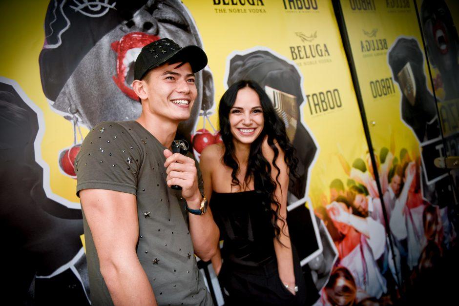 """Taboo"" vakarėlyje – ir Monika Šalčiūtė"