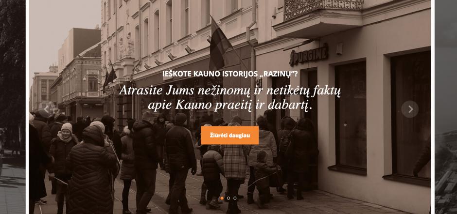 """Elektroninis žinynas """"Kaunas: datos ir faktai"""" – ir kauniečiui, ir užsieniečiui"""
