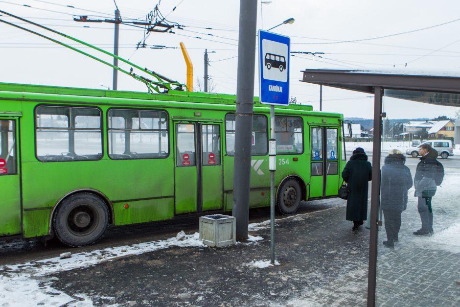 Kaune keleivius klaidina vienodai pavadintos stotelės
