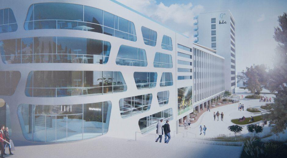Kaune dygstantis verslo centras dvelks išskirtinumu: 12 aukšte – unikalus restoranas