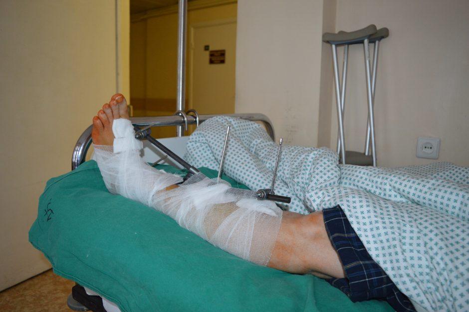 Kauno ligoninėje – pacientų antplūdis, sužalojimai itin sunkūs