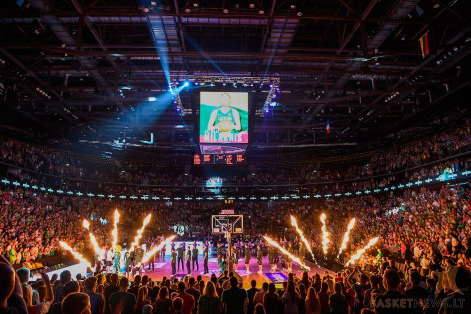"""Be konkurencijos: """"Žalgirio"""" arena – lankomiausia Eurolygoje"""