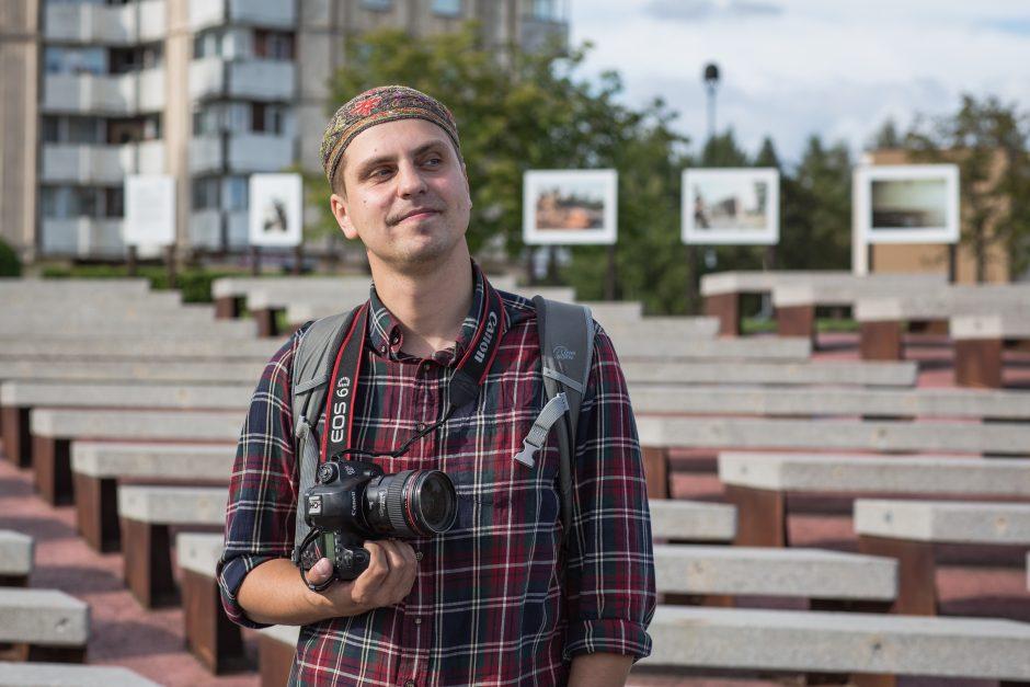 Fotožurnalistas A. Morozovas: karas gali būti labai meniškas