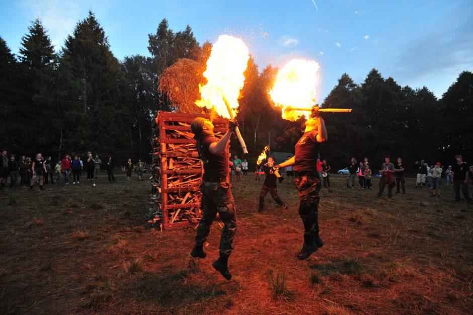Telšiuose pasibaigė didžiausia Lietuvoje skautų stovykla
