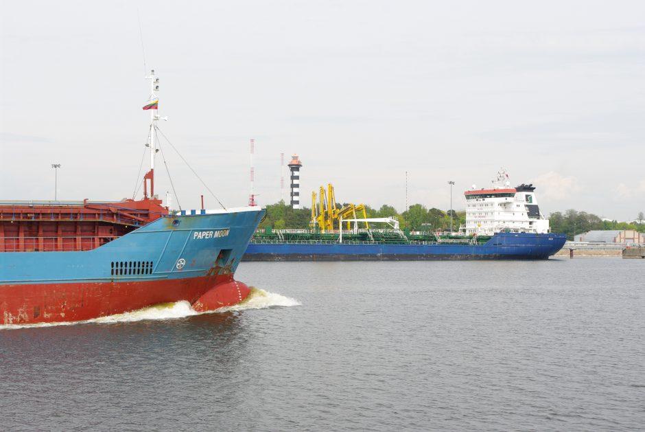 Klaipėdos uoste daugėja didelių laivų