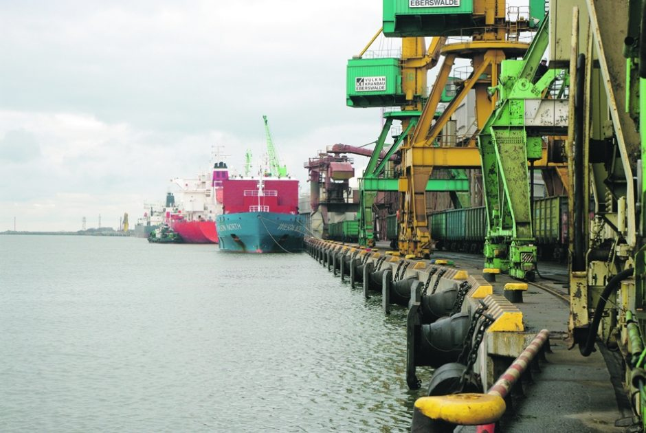 Po gilinimo ir krantinių rekonstrukcijų uoste - naujos galimybės