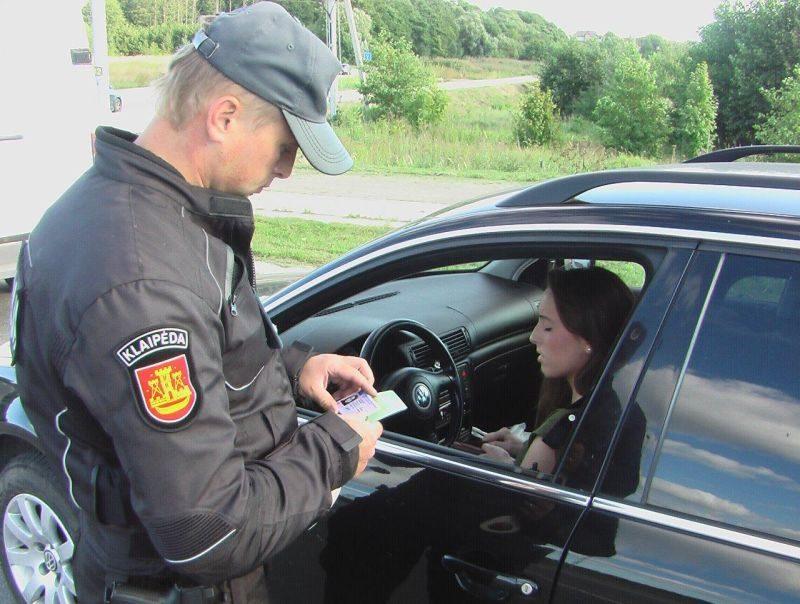 Per savaitę Klaipėdos apskrityje - daugiau nei trys šimtai greičio viršijimo atvejų
