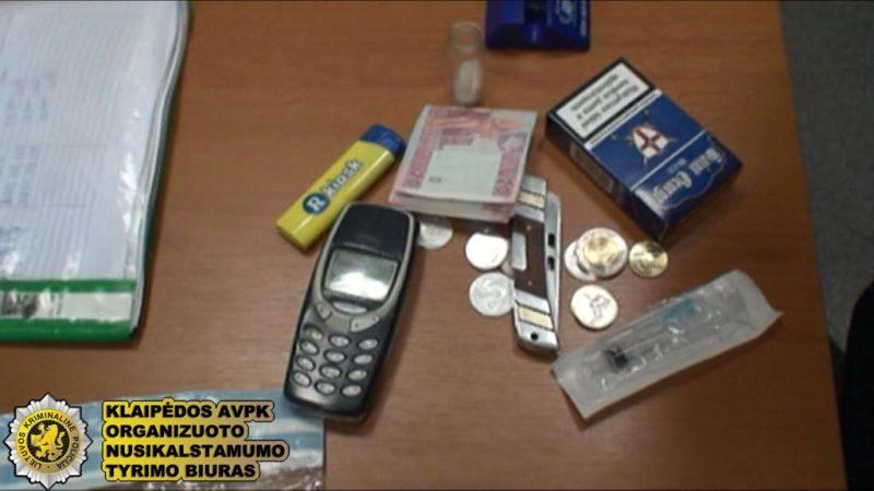 Klaipėdoje į teismą keliaus heroino pardavėjai