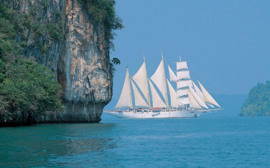 Burės kruiziniuose laivuose - tik turistams vilioti