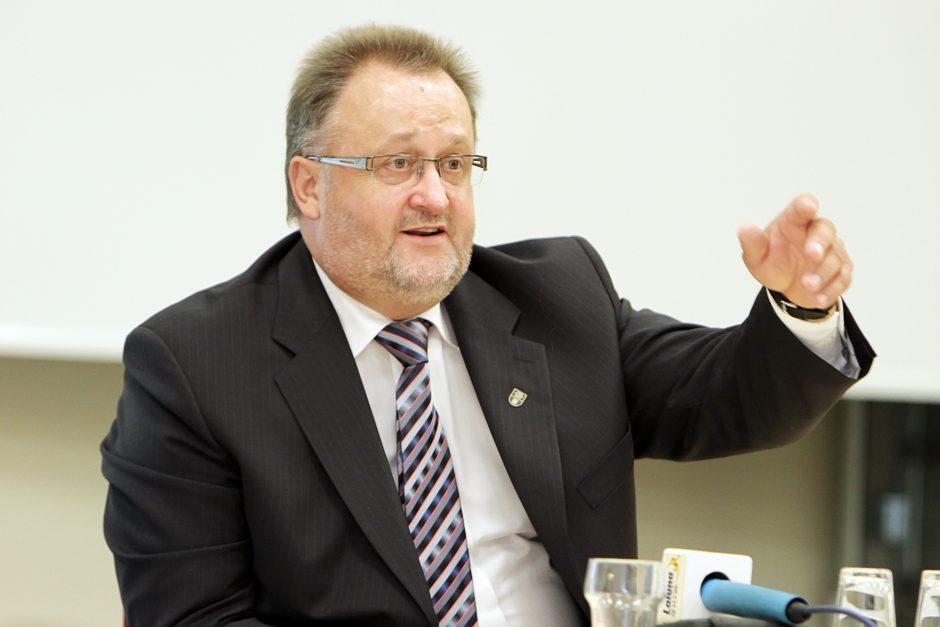 Klaipėdos universiteto rektorius užminė mįslę