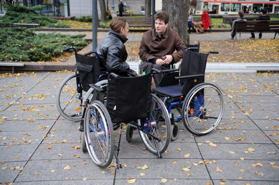 Klaipėdos neįgalieji gyvenimo nekeikia