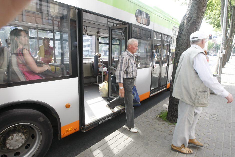 Uostamiesčio autobusams – rudens grafikai