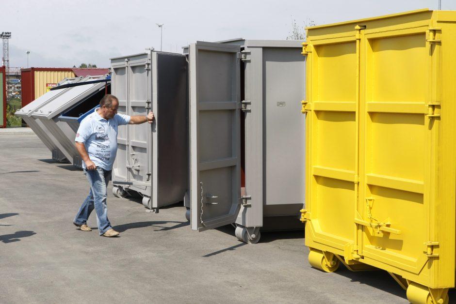 Klaipėdoje jau atidarytos didžiųjų atliekų surinkimo aikštelės