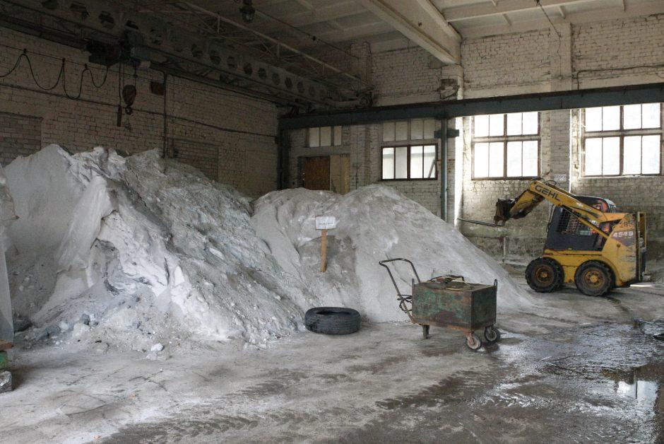 Klaipėdos kelininkai pradėjo ruoštis žiemai