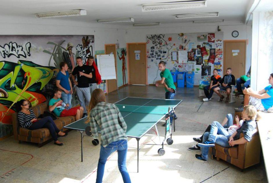 Atviros jaunimo erdvės uostamiesčio jaunuolius kviečia dalyvauti sporto savaitėje