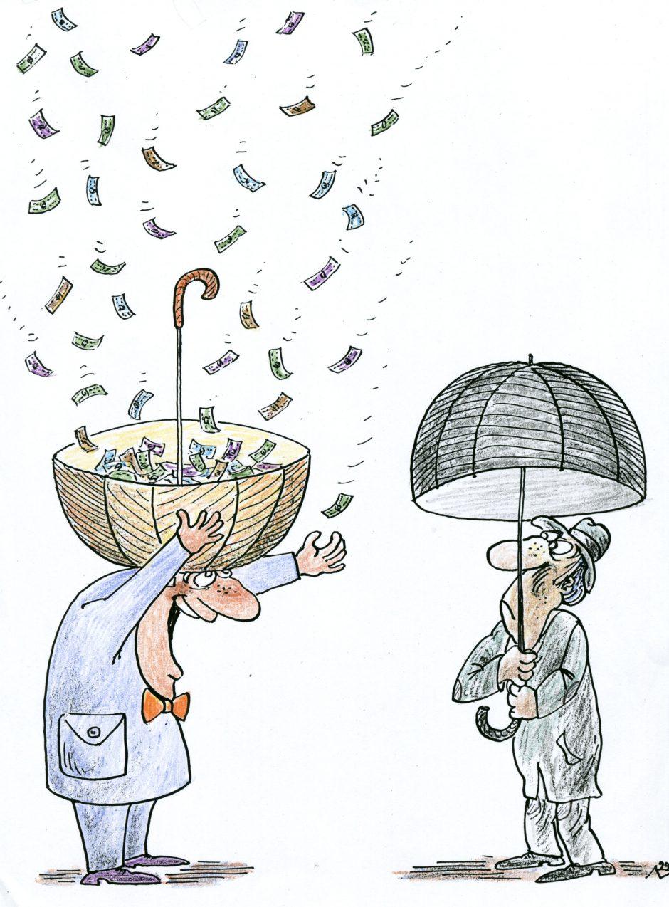 Uostamiesčio klerkų kova – dėl pinigų