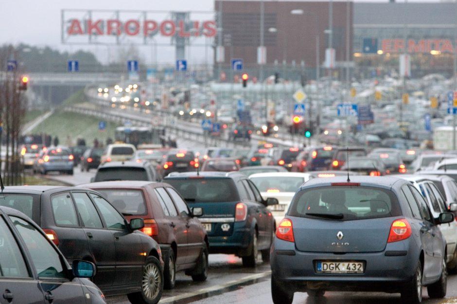 Vilniuje dalį