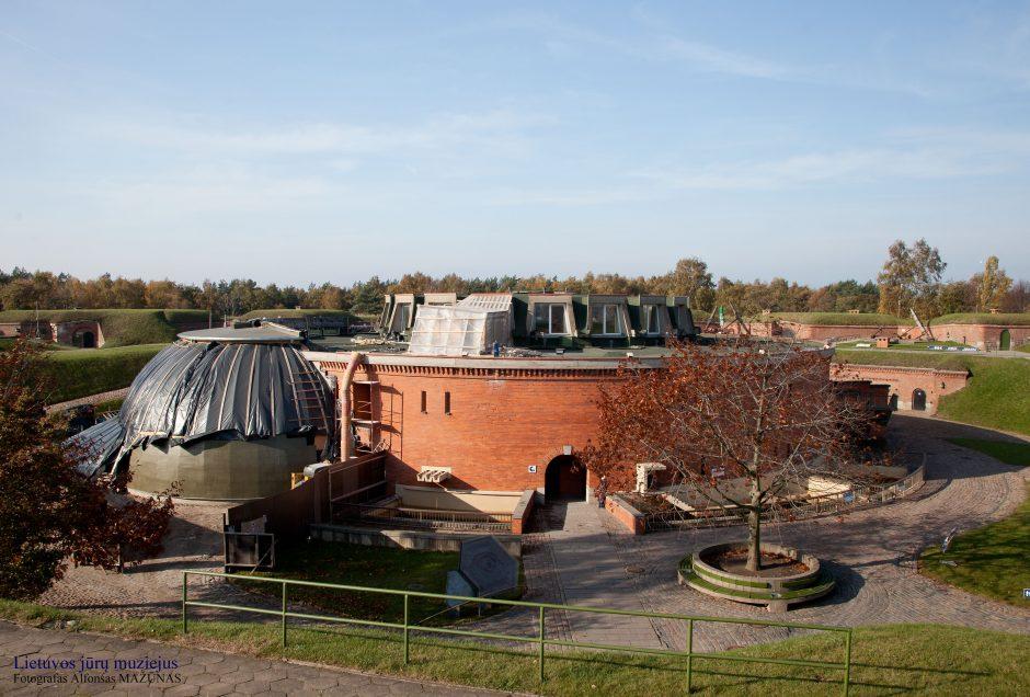 Jūrų muziejus uždaromas rekonstrukcijai
