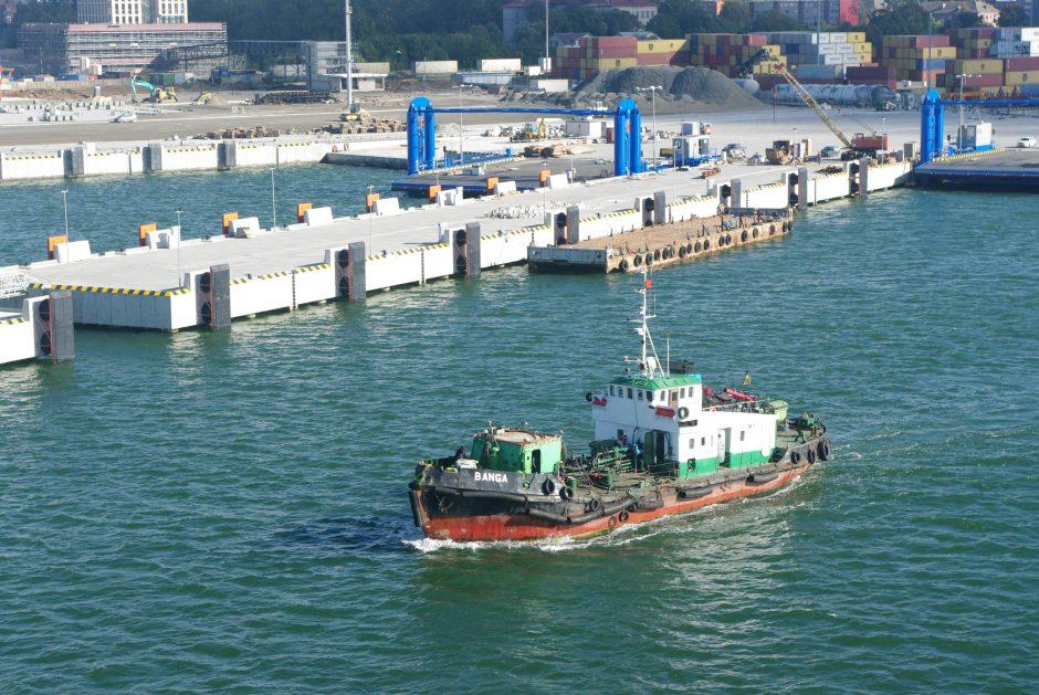 Klaipėdos uostas nori didesnės ES paramos