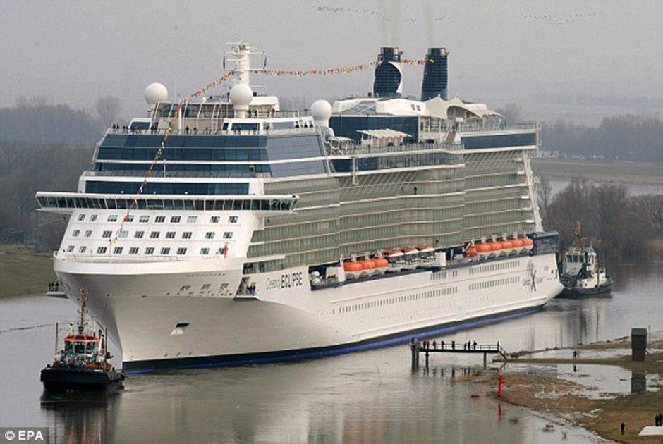 Klaipėdos uostą aplankys didžiausias jo istorijoje laivas