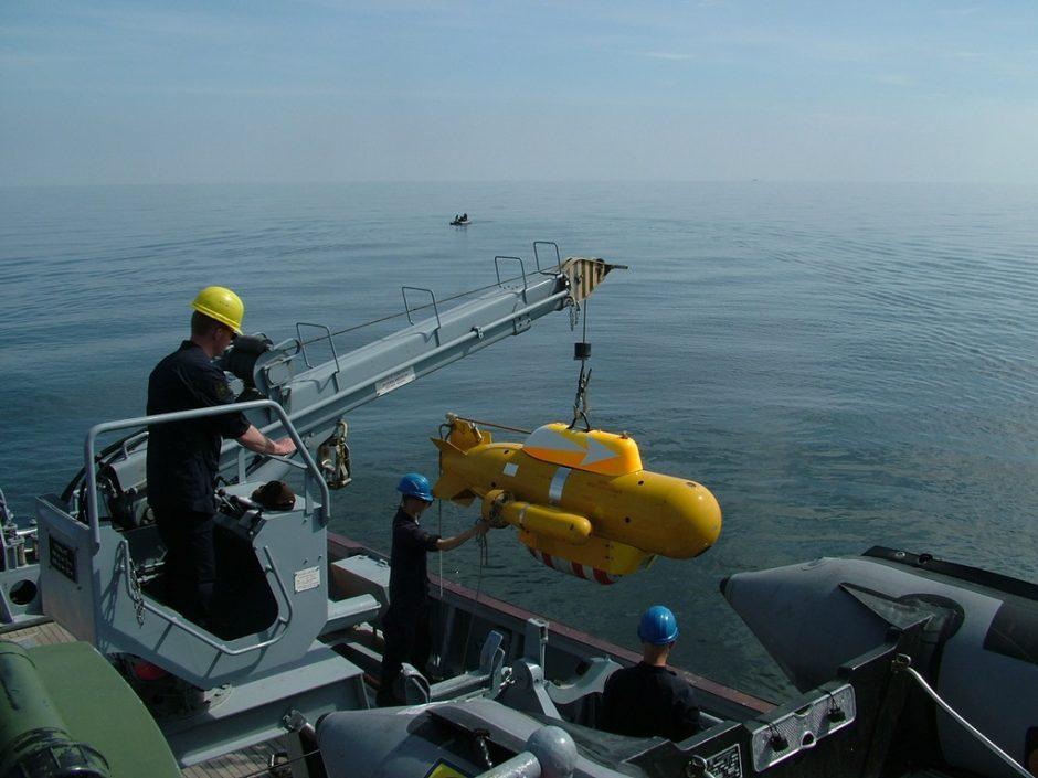 Lietuvos vandenyse - taptautinė išminavimo jūroje operacija