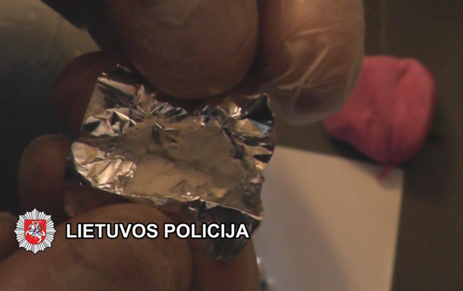 Baigtas tyrimas dėl bendrabučiuose platinto pavojingo narkotiko