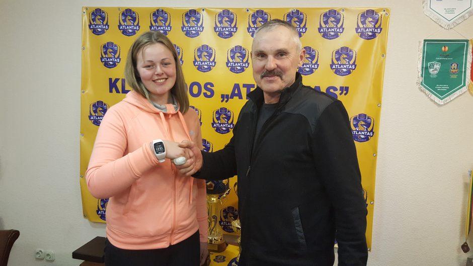 """Lietuvos moterų futbole – """"Atlanto"""" komanda"""
