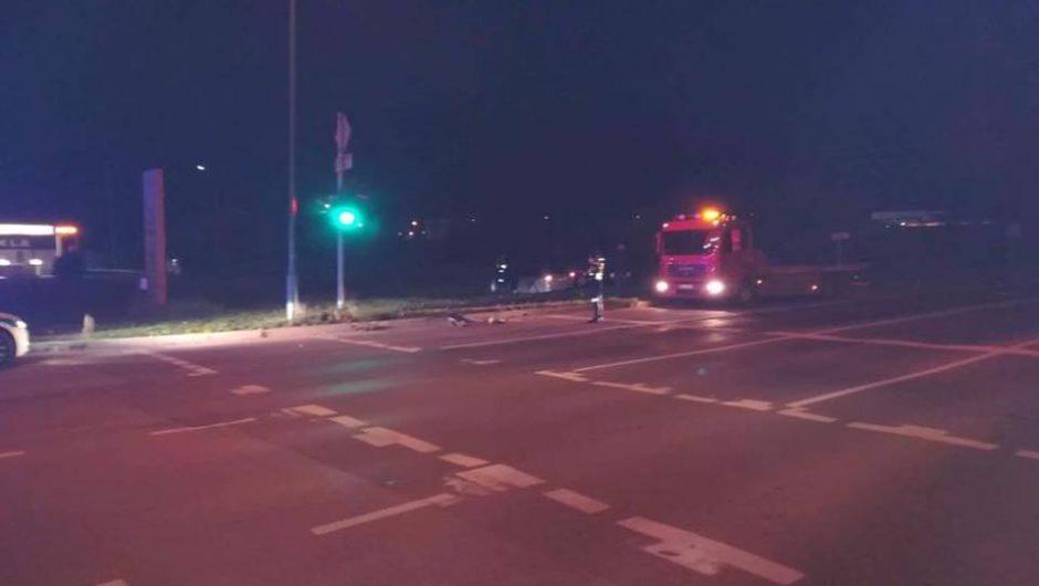 Girtas ukrainietis siautėjo Klaipėdos gatvėse