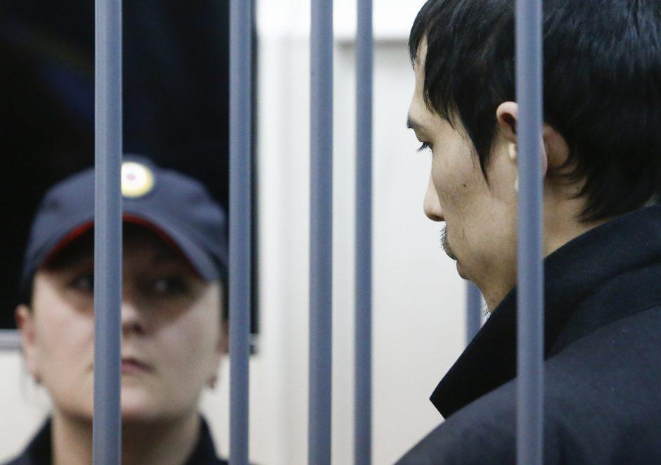 Rusijoje suimtas sprogdinimo metropolitene įtariamo organizatoriaus brolis
