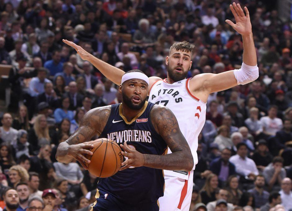 NBA: J. Valančiūnas pelnė 7 taškus