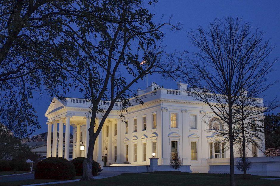 Po grasintojo arešto sustiprintas Baltųjų rūmų saugumas