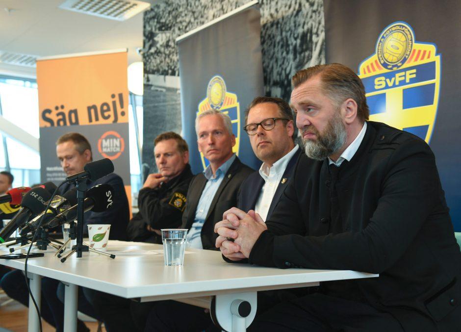 Švedijos futbolą supurtė lažybų skandalas