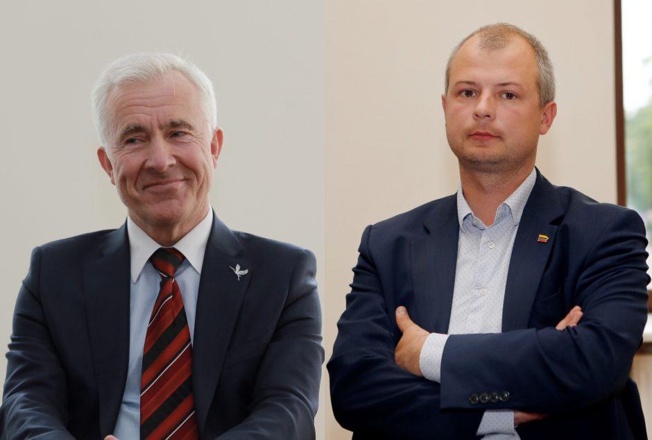 Politinio pyrago dalybos Klaipėdoje