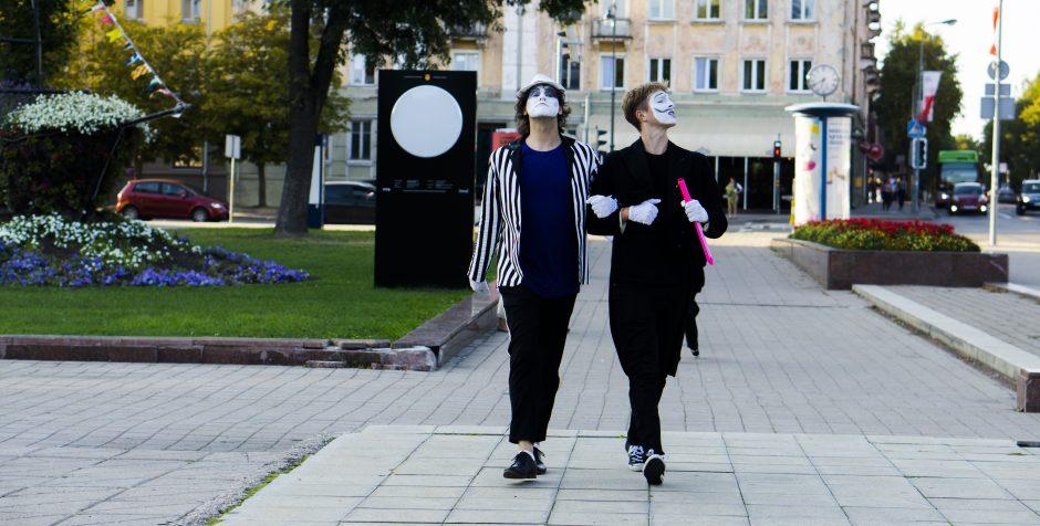 Mimai sveikino Klaipėdos jaunimą