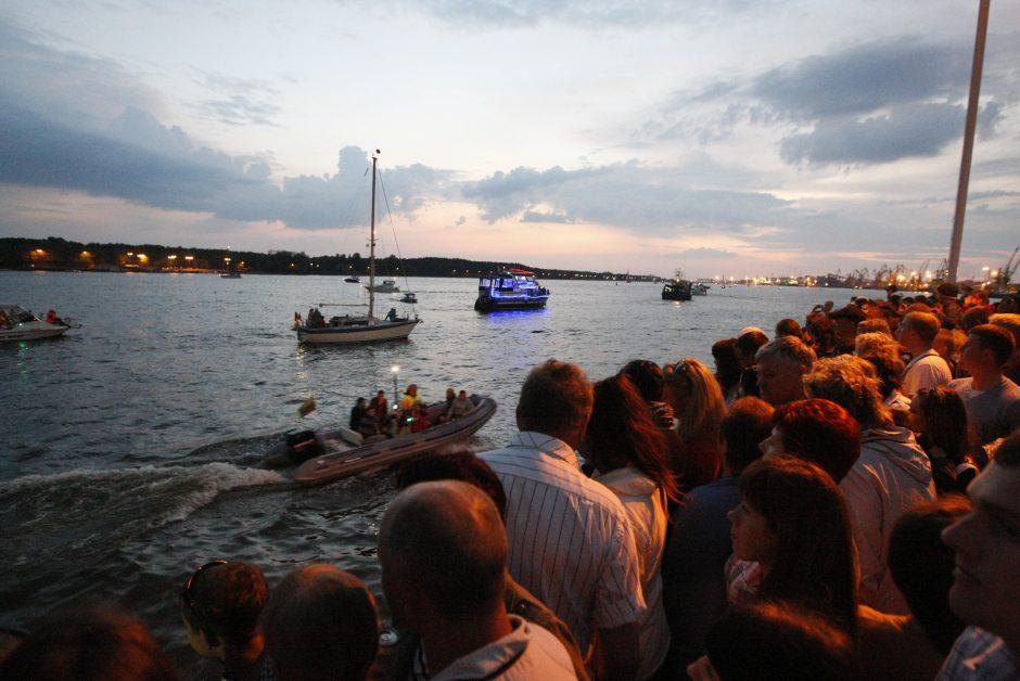 Laivų paradas skelbs vasaros pradžią (programa)