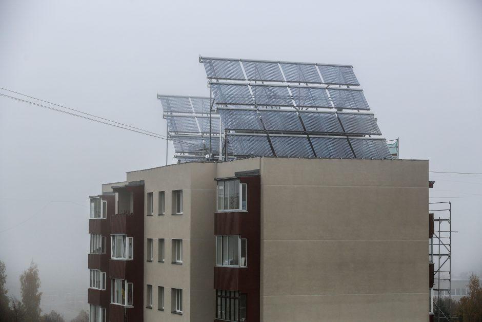 Ant stogų Klaipėdoje – saulės jėgainės