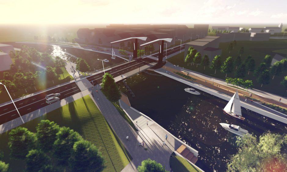 Bastionų tiltui prašys ES pinigų