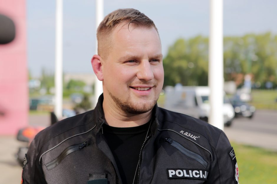Spūsčių Klaipėdoje priežastis – policijos reidas
