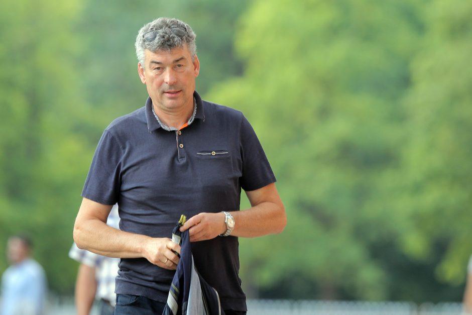 """V. Murauskas – apie """"Sūduvą"""" Europoje, lenktynes su """"Žalgiriu"""" ir G. Acevedo"""