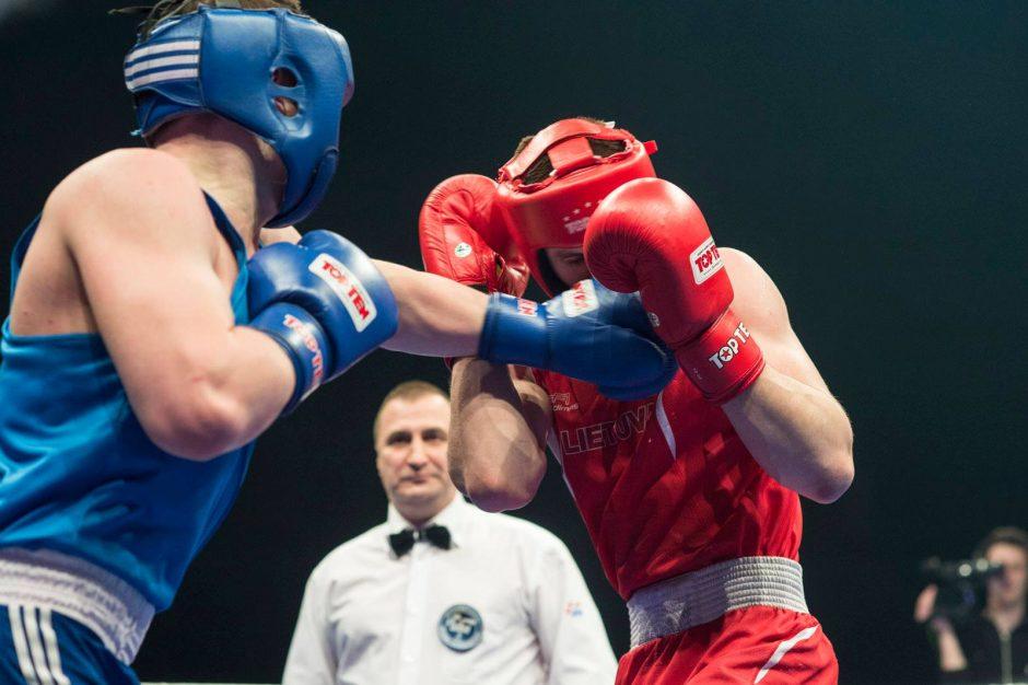 Lietuvos boksininkas pateko į Europos čempionato ketvirtfinalį