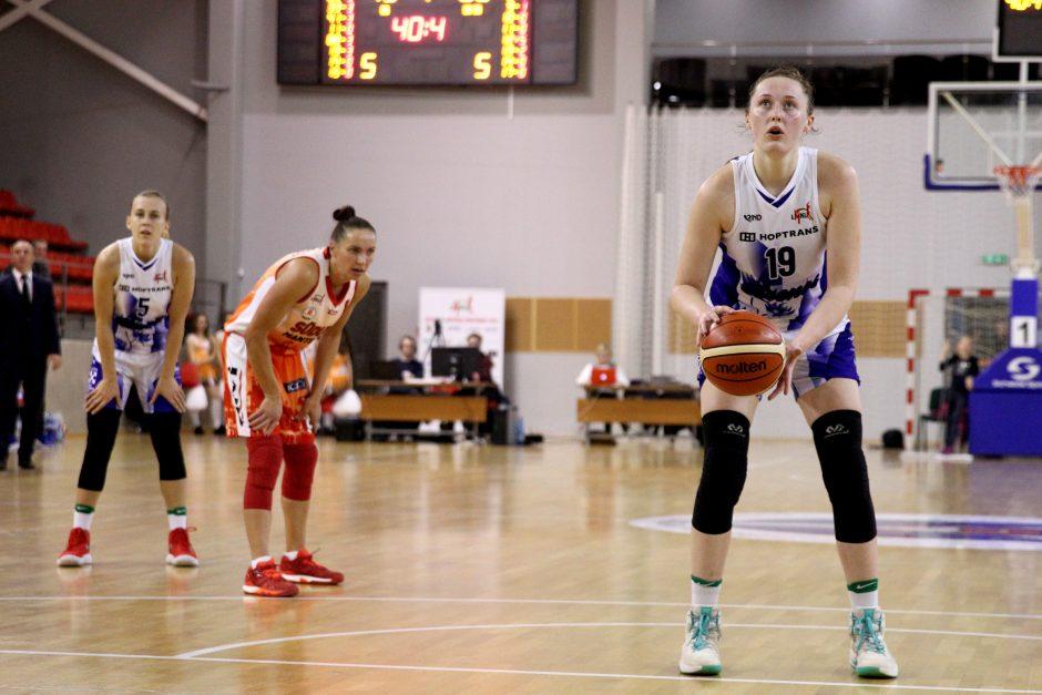 Pirmosios 2018-ųjų LMKL savaitės MVP – L. Sakevičiūtė