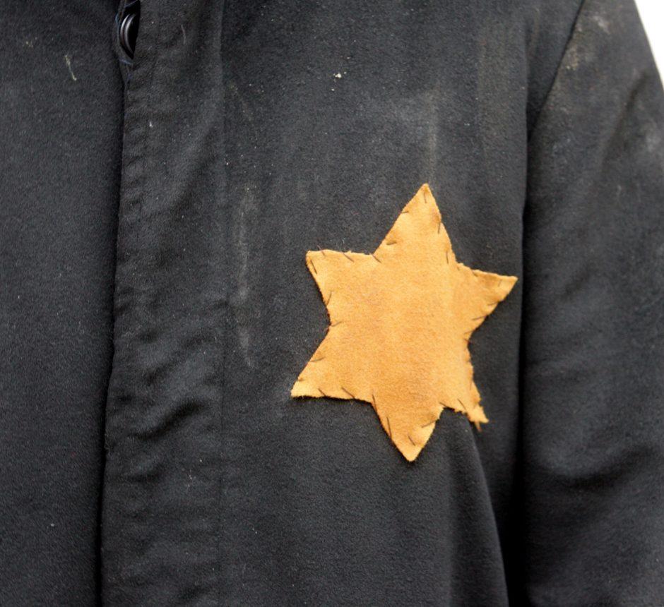 Prancūzijoje gyvenantis žydas Vilniuje prisiminė kraupią slapstymosi patirtį